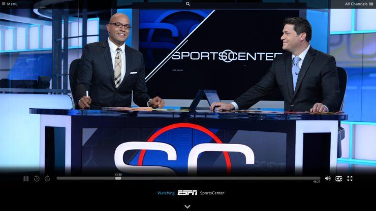 """streaming du football universitaire en direct en 2017 - Sling TV """"width ="""" 740 """"height ="""" 416 """"/></p></noscript><ul><li> Sling TV: Parce que Sling TV inclut ESPN, comme DirecTV Maintenant, c'est un choix pour regarder les jeux de football des collèges en ligne en 2017. De plus, vous pouvez aborder des chaînes telles que Pac-12 Network, ESPNU et SEC Réseau pour une couverture sportive supplémentaire. Sur certains marchés, NBC live streaming est disponible ainsi que les forfaits régionaux FOX Sports. [<strong> Lire: </strong> Introduction à la coupe du cordon: Sling TV review]</li></ul><p> <img class="""