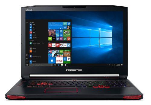 Ordinateur portable Acer Predator 17 Gaming - Meilleur PC pour les jeux et l'utilisation HTPC 2017