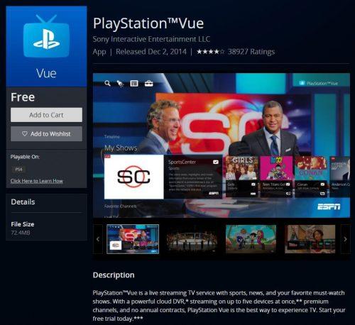 PlayStation ™ Vue sur PS4 - Diffusez des jeux NFL en direct