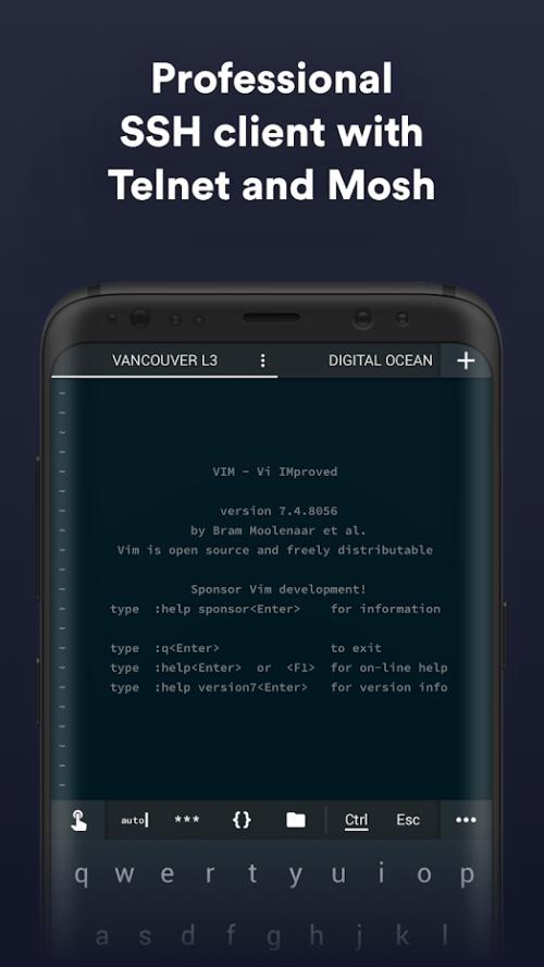 Meilleurs clients SSH pour Android: 10 applications SSH gratuites pour l'administrateur distant - termius
