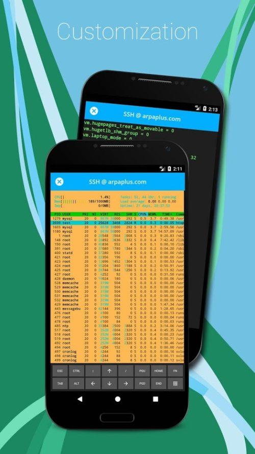Meilleurs clients SSH pour Android: 10 applications SSH gratuites pour l'administrateur distant - SSH SFTP