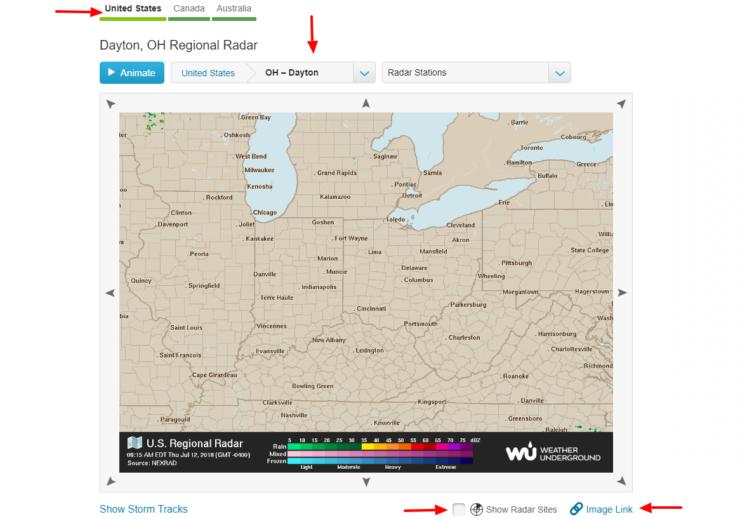 Obtenir l'URL de l'image pour la carte météo Static HASS