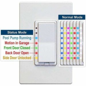 HomeSeer HS-WD200+ Zwave Plus Dimmer Switch with Scene Capability