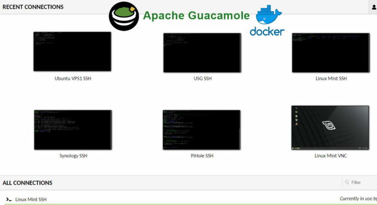 Guacamole - Remote Admin using HTML5 Browser