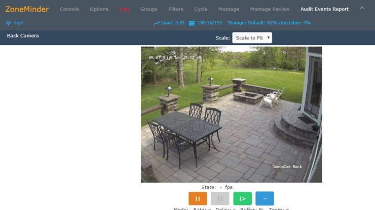 Swann NHD-850 Camera on Zoneminder