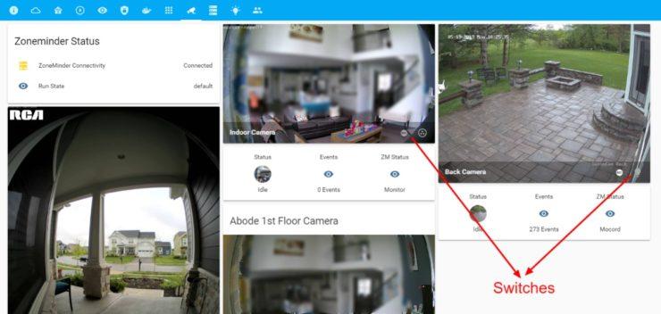 Surveiller les flux de caméra ZoneMinder sur Home Assistant