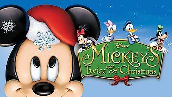 Mickey deux fois sur un Noël