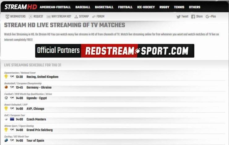 meilleurs sites web pour regarder le football universitaire en ligne gratuitement - streamhdnet