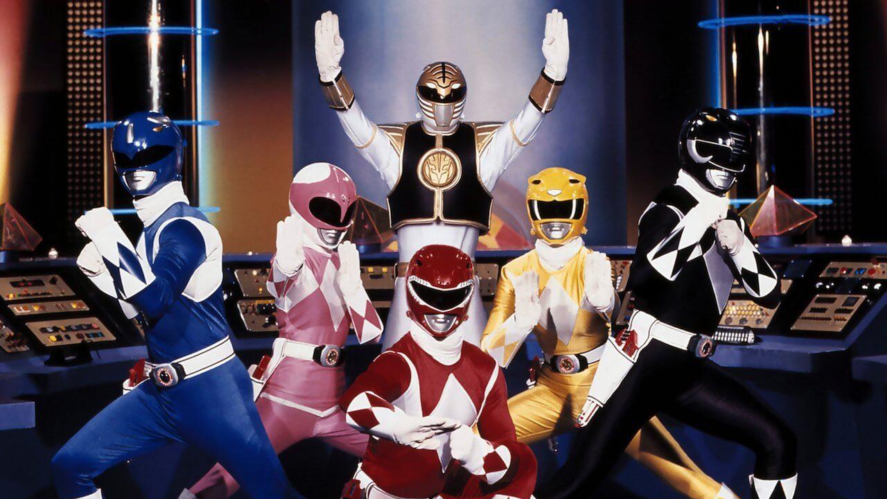 toutes les séries power rangers sur netflix power rangers mighty morphin