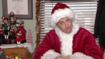 Noël souhaite le bureau