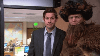 Dwight Christmas - Le bureau