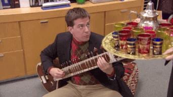 Noël marocain Le bureau