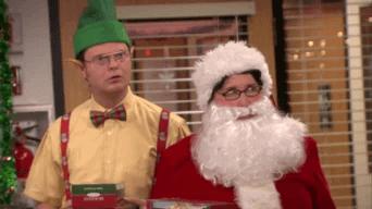 Père Noël secret le bureau